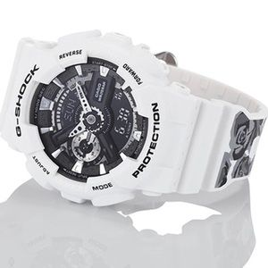 G-Shock S Series Floral White
